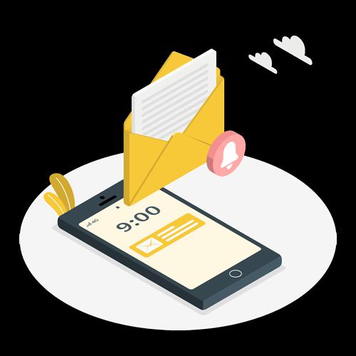 دسترسی آسان بازاریابی ایمیلی
