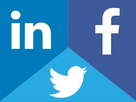 توییتر؛ فیسبوک، لینکدین مارکتینگ
